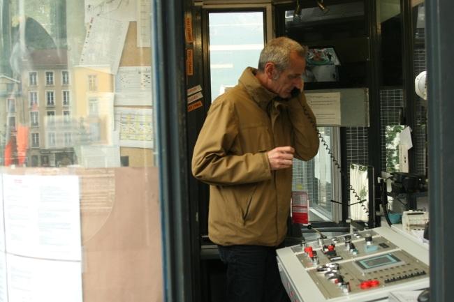 Jacques Pila, le directeur de la Régie du téléphérique de la Bastille. © Joël Kermabon - Place Gre'net