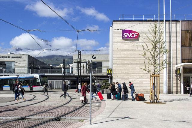 Gare SNCF de Grenoble © Chloé Ponset - Place Gre'net