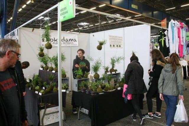 La botanique japonaise a son stand © Florent Mathieu - Place Gre'net