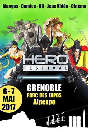 Hero Festival Grenoble affiche