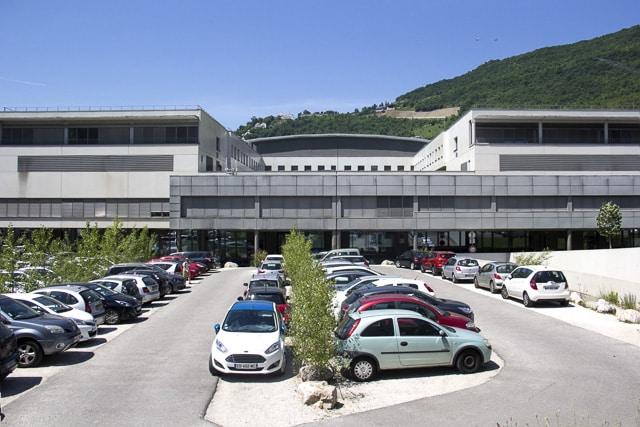 Demain, l'hôpital de Grenoble pilote pour un test de 5G ? © Chloé Ponset - Place Gre'net