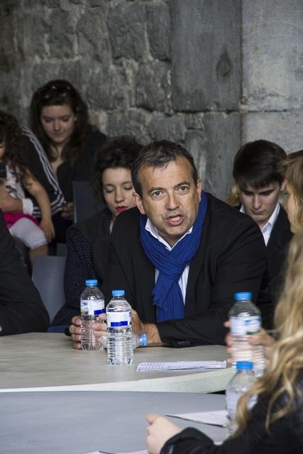 Jean-Damien Mermillod Blondin, candidate de l'union des démocrates indépendant, législatives 2017, Grenoble © Chloé Ponset - Place Gre'net