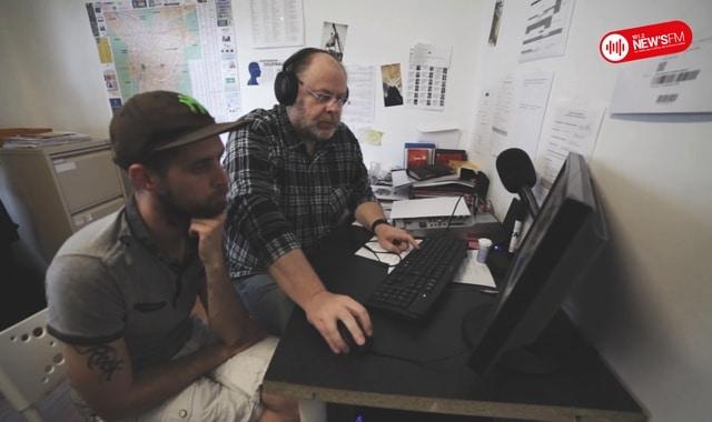 Les locaux et salariés de New's FM. © New's FM