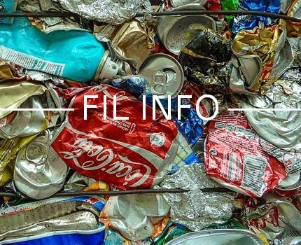 Fil info - déchèteries - déchets