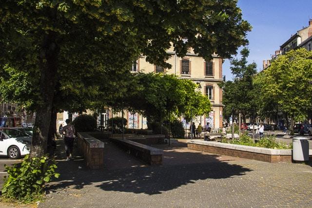 La place Championnet © Chloé Ponset - Place Gre'net