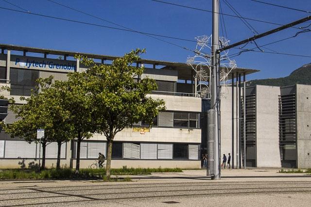 Le site de Polytech Grenoble sur le campus de Saint-Martin d'Hères © Chloé Ponset - Place Gre'net