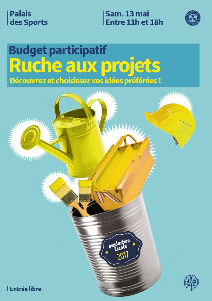 Ruche aux projets Grenoble 2017