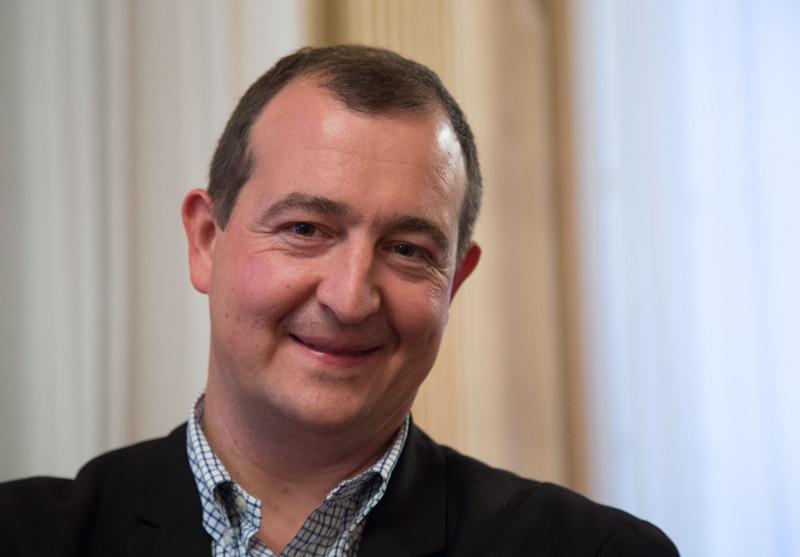 Christophe Bouvier, maire de Chasse-sur-Rhône © Yuliya Ruzhechka - Place Gre'net