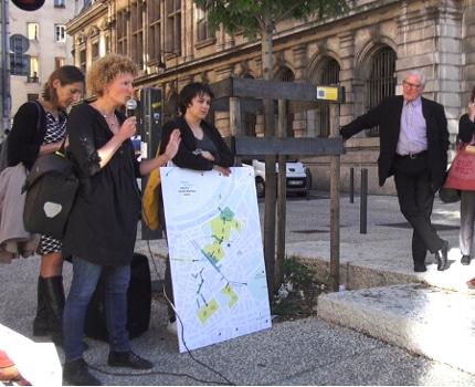 La Métropole, la ville de Grenoble et le SMTC ont lancé une nouvelle phase de dialogues publics concernant l'aménagement de futures zones piétonnes.