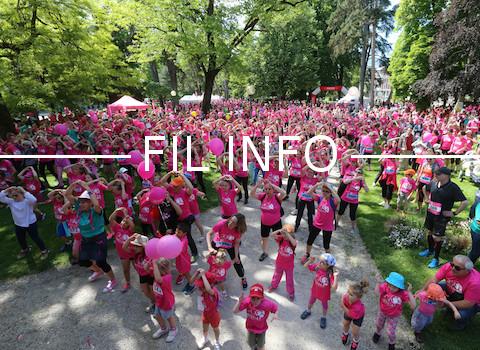 Chambéry accueille le samedi 13 mai, la 11è édition d'Odysséa : une course contre le cancer du sein. @ Odysséa