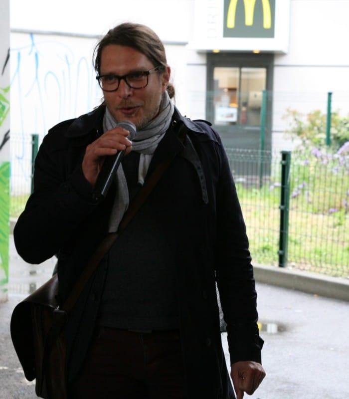 Quentin de Neeff, du service Espaces verts de Grenoble © Florent Mathieu - Place Gre'net