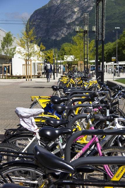 La gare de Grenoble propose de nouvelles places pour garer les vélos © Chloé Ponset - Place Gre'net