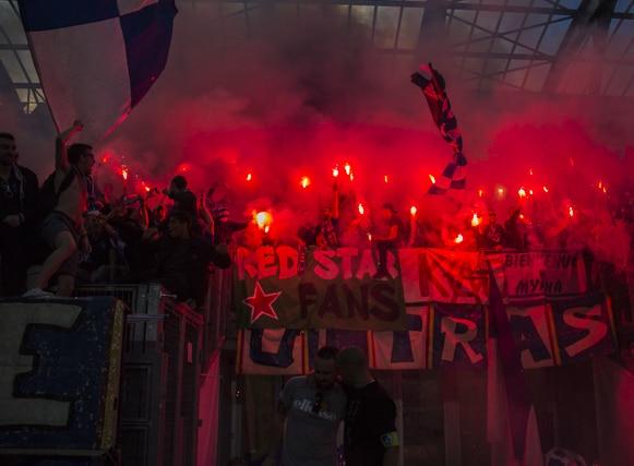 Victoire du GF38 au match du 13 mai 2017, GF38 - Le Puy, Stade des Alpes, Grenoble © Chloé Ponset - Place Gre'net