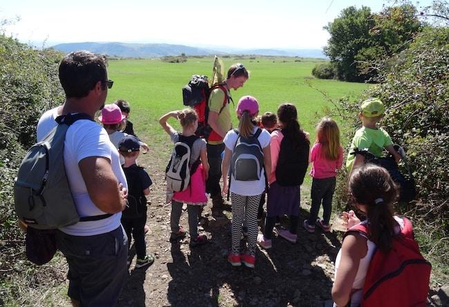 Actions de sensibilisation à l'environnement par la Frapna Ardèche