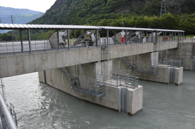 Le nouveau barrage de Livet. © Laurent Genin