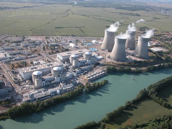 Centrale nucléaire du Bugey. DR