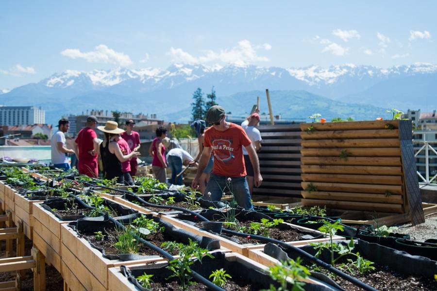 Conférence, visites, forum... Grenoble accueille la deuxième édition des 48 heures de l'agriculture urbaine, du vendredi 3 au dimanche 5 mai.L © Yuliya Ruzhechka - Place Gre'net