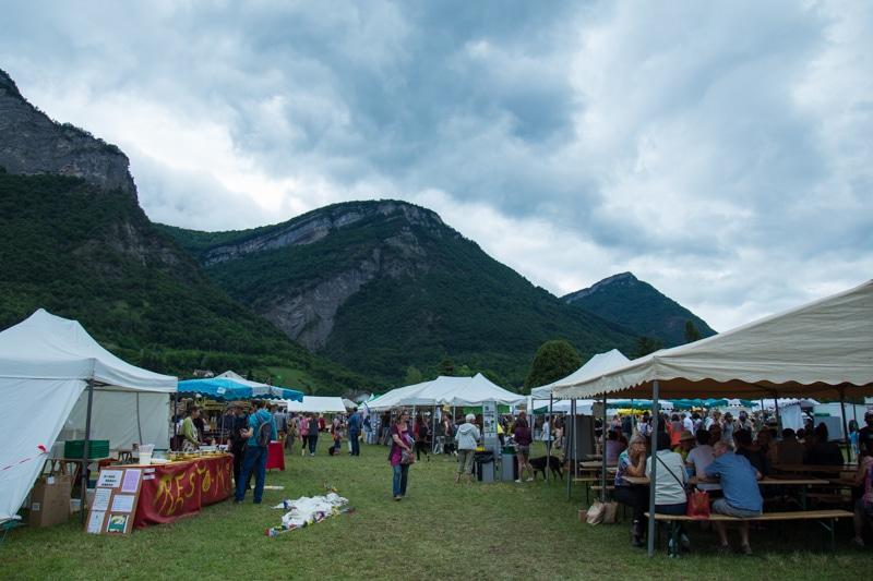 La 6ème édition d'Ecofestival Grésivaudin à Lumbin. 4 juin 2017. © Yuliya Ruzhechka - Place Gre'net