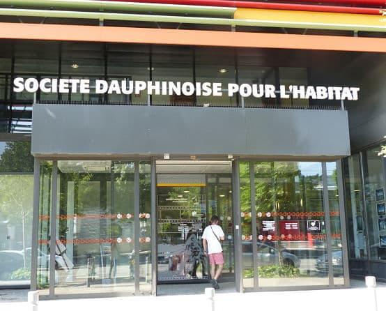 Le siège de la SDH à Echirolles. DR