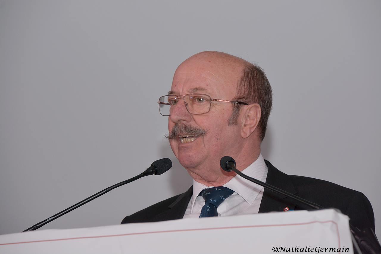 Gérard Dézempte, maire de Charvieu-Chavagneux © Nathalie Germain