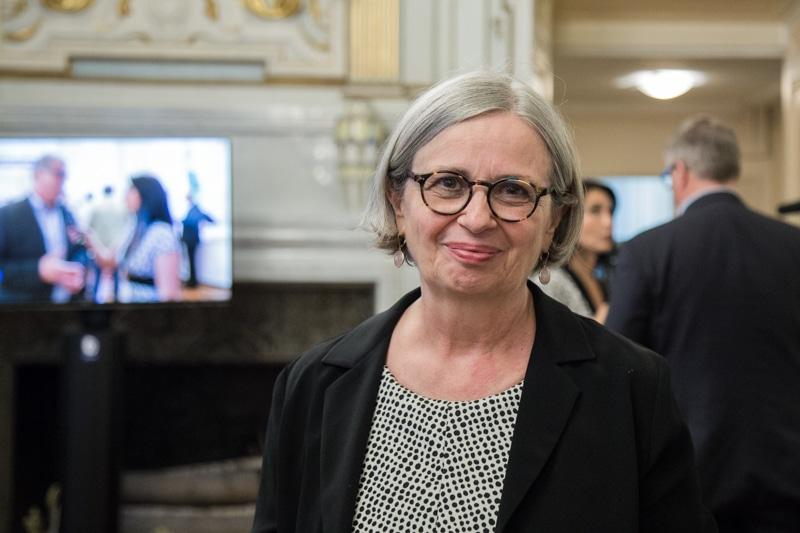 L'ex-FN Mireille d'Ornano, conseillère municipale de Grenoble, exige un « grand Plan de lutte contre les incivilités, la délinquance et l'insécurité ».© Yuliya Ruzhechka - Place Gre'net