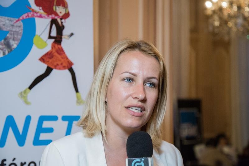 Émilie Chalas, députée de la troisième circonscription de l'Isère. © Yuliya Ruzhechka - Place Gre'net