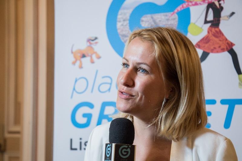 Emilie Chalas, députée de l'Isère. © Yuliya Ruzhechka - Place Gre'net