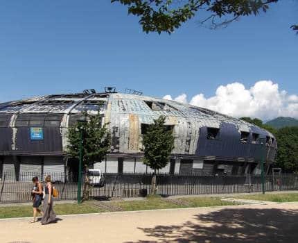 Le collège Lucie Aubrac, à la Villeneuve, a été en partie détruit par un incendie dans la nuit du 10 au 11 juin.