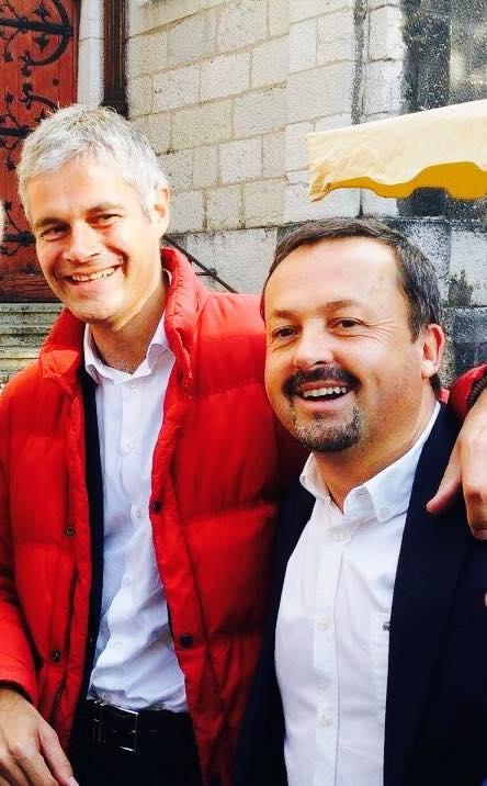 Yannick Neuder affiche volontiers sa proximité avec Laurent Wauquiez. DR