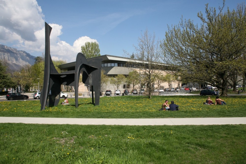 Campus de Grenoble © Florent Mathieu - Place Gre'net