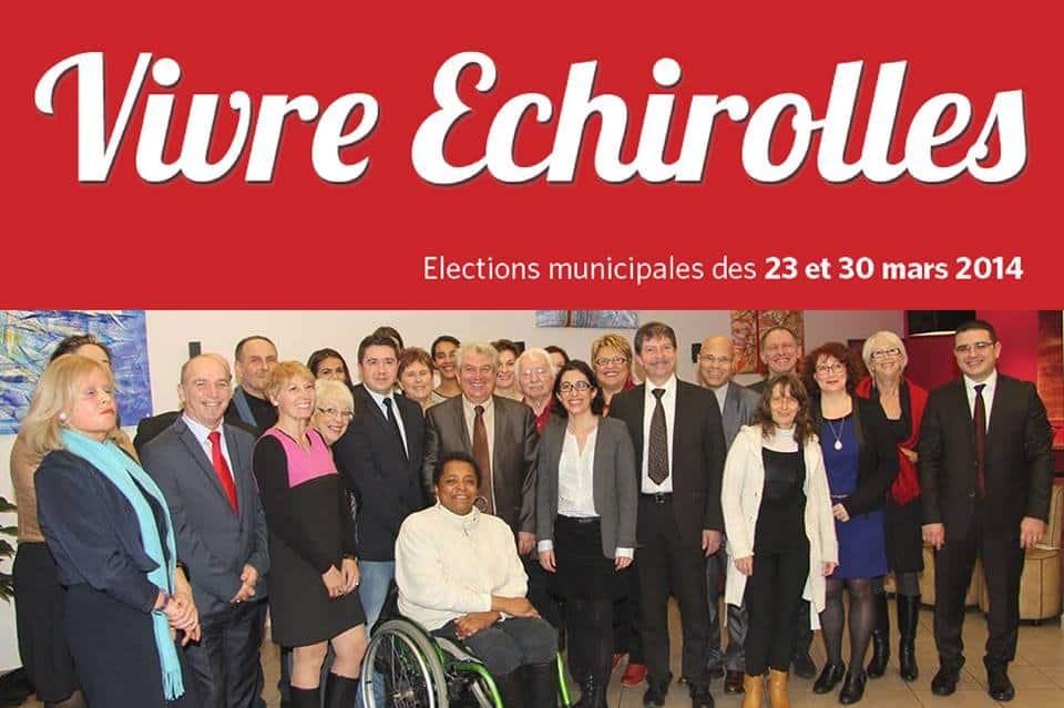 Visuel de campagne de Renzo Sulli pendant la campagne des Municipales. DR