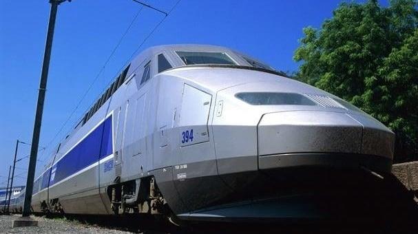 Un train TGV. DR