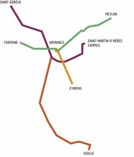 Les 4 axes structurants Chronovélos
