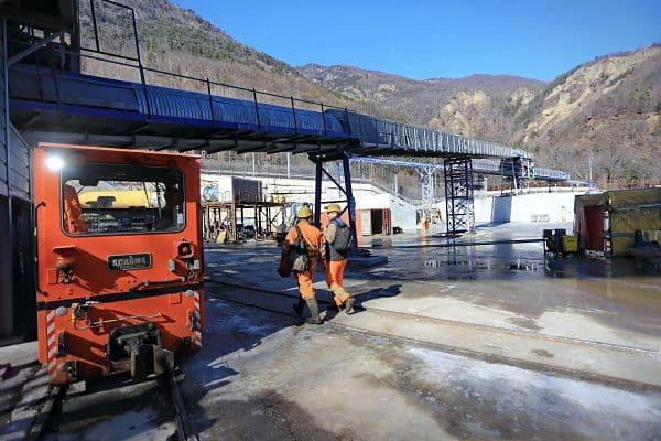 Le chantier du tunnel de reconnaissance de la Maddalena © Telt