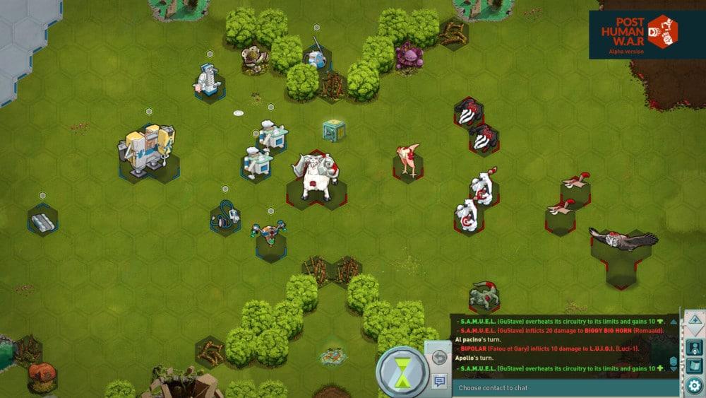 Un jeu « complexe, mais pas compliqué » dans un univers décalé. Post Human War, jeu vidéo de stratégie au tour par tour créé par des Grenoblois, sort en version définitive cet automne après un long développement.DR