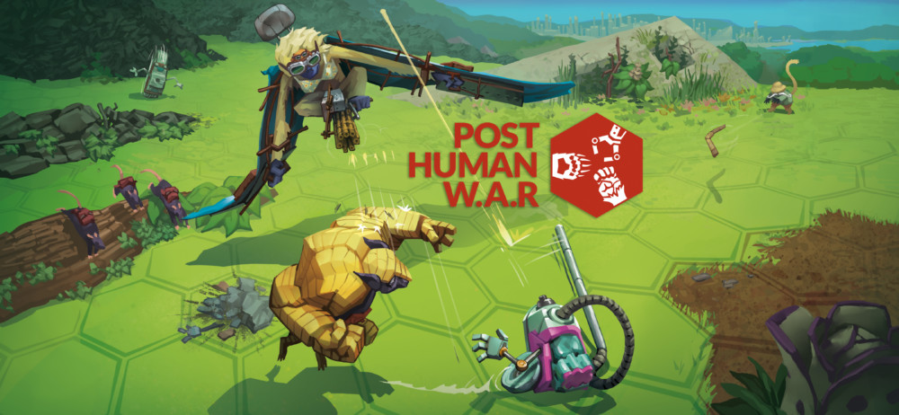 Post Human War, jeu vidéo de stratégie au tour par tour créé par des Grenoblois, sort en version définitive cet automne après un long développement.Animaux mutants et aspirateurs guerriers au programme. DR