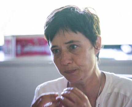 Elisa Martin, 1ère adjointe du maire de Grenoble. © Yuliya Ruzhechka - Place Gre'net