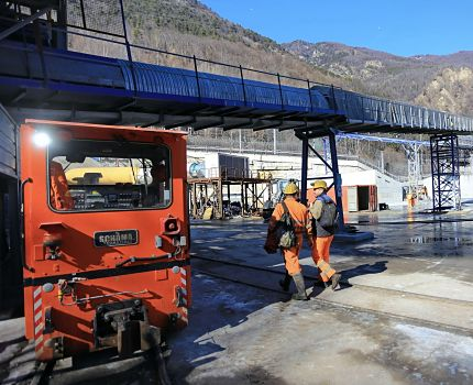 A Chiomonte, au Val de Suse, le chantier du tunnel de reconnaissance de la Maddalena