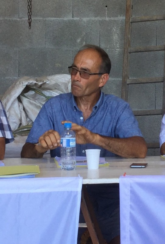 Pascal Denolly, président de la FDSEA Isère © FDSEA