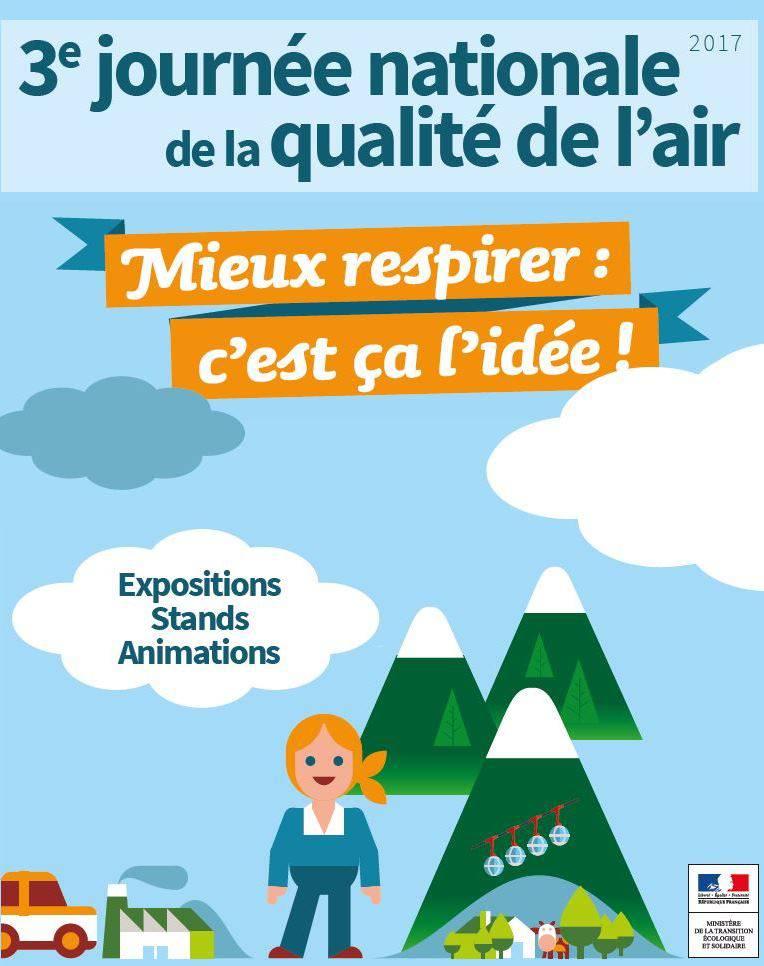 Mercredi 20 septembre, la rue de la République à Grenoble accueille stands et animations dans le cadre de la Journée nationale de la qualité de l'air.