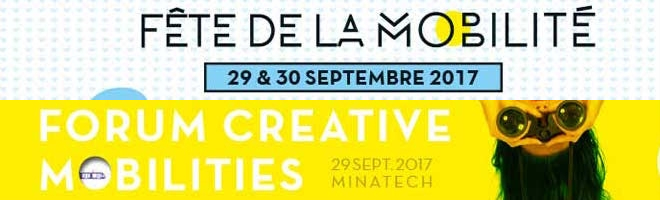 1er forum international Creative mobilities le 29 septembre 2017 à Grenoble.