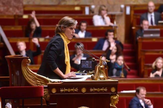 Cendra Motin, députée de la sixième circonscription de l'Isère. DR