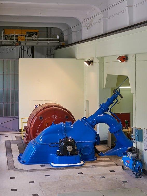 À la rencontre de la centrale Hydroélectrique EDF du Lac Mort © EDF - Ch. Brunet