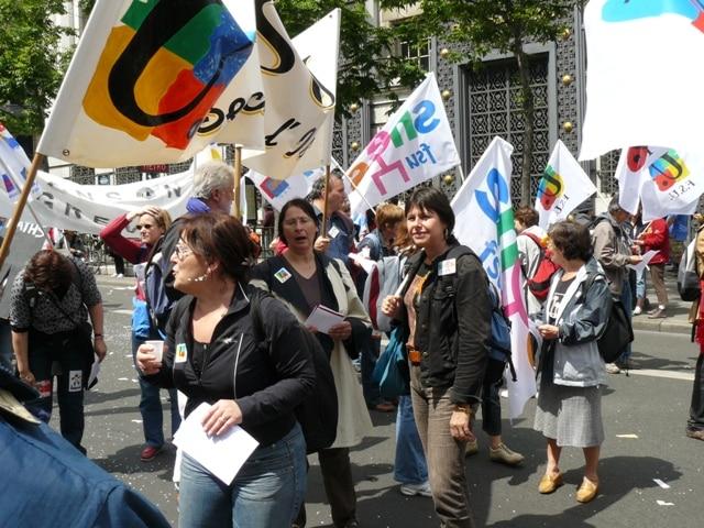 Les syndicats de l'Éducation nationale appellent à la grève et à la manifestation mardi 10 novembre © FSU