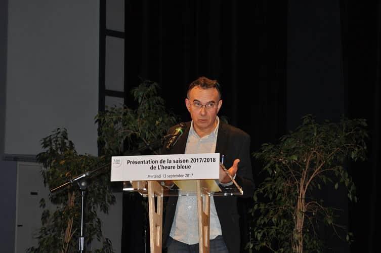 Vincent Villenave, directeur de L'Heure bleue