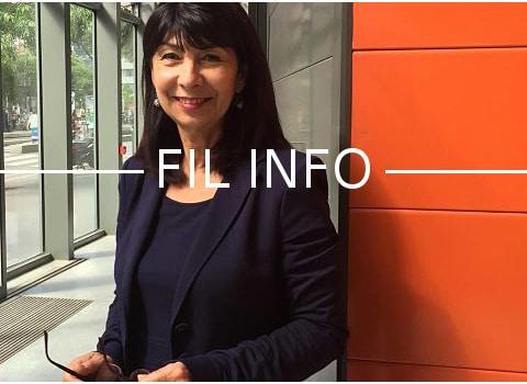 Michèle Cédrin, ex-Modem, adjointe au maire de Vienne, tête d'une liste sans étiquette aux Sénatoriales de 2017