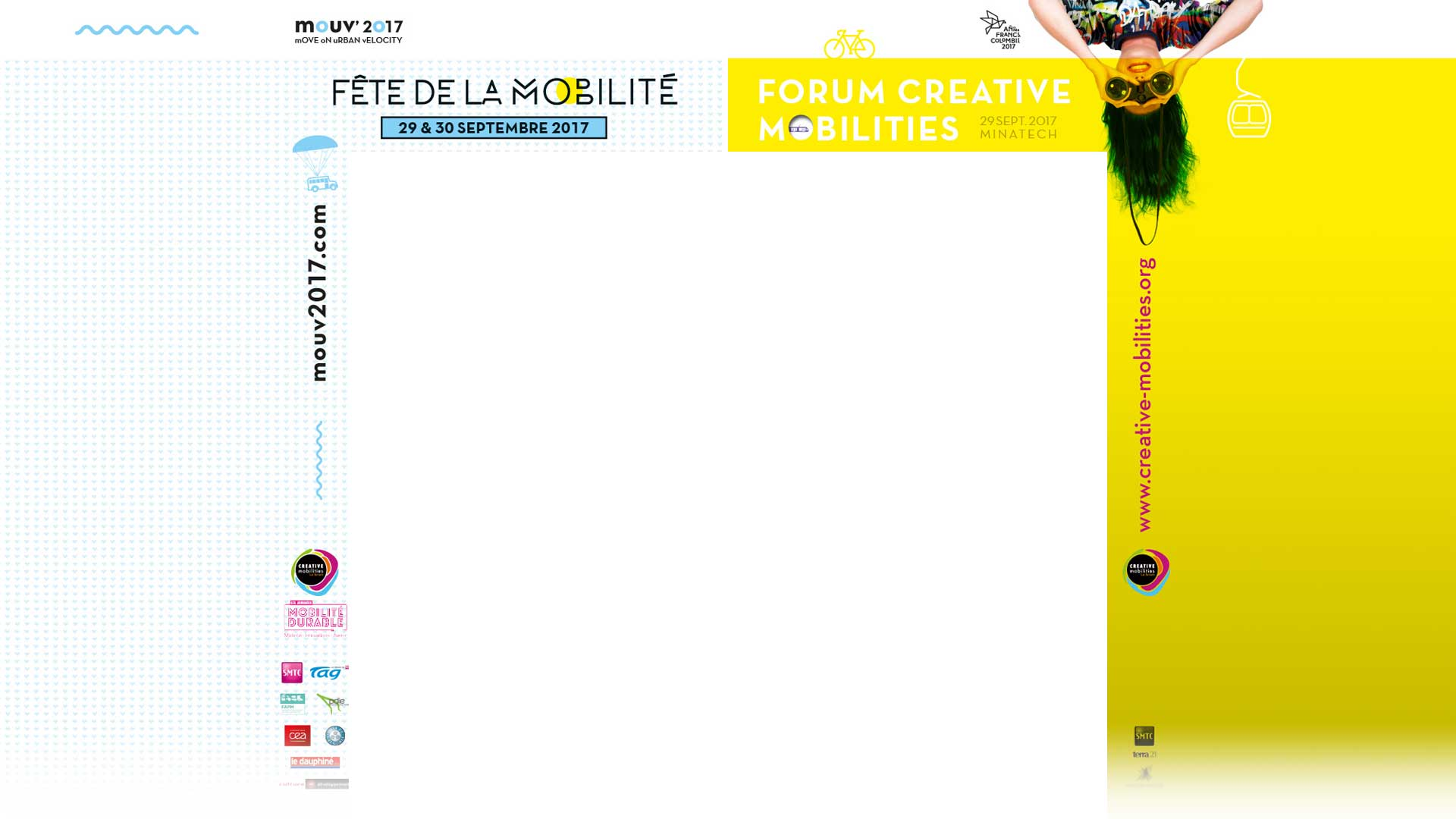 1er forum international Creative mobilities le 29 septembre 2017 à Grenoble.