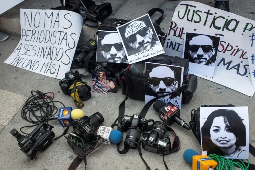 Trafic et violences politiques : 36 journalistes ont été assassinés au Mexique depuis le début du mandat du nouveau président fin 2012. DR