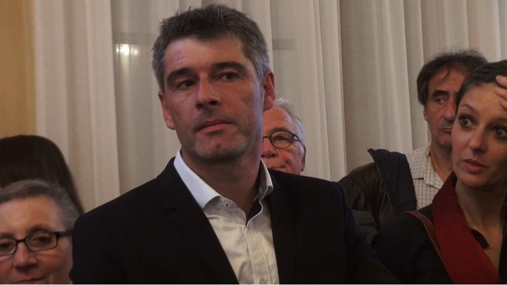 Le sénateur Guillaume Gontard doit rendre visite aux salariés grévistes © Joël Kermabon - Place Gre'net