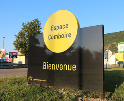 Zone commerciale de Comboire. Copyright Sébastien Pradel Designer